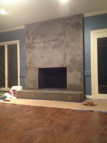 Faux Concrate Plaster Finishes In Los Angeles Mural